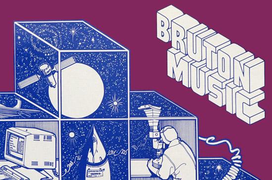 Maraid Design - Blog Bruton Music Library record covers