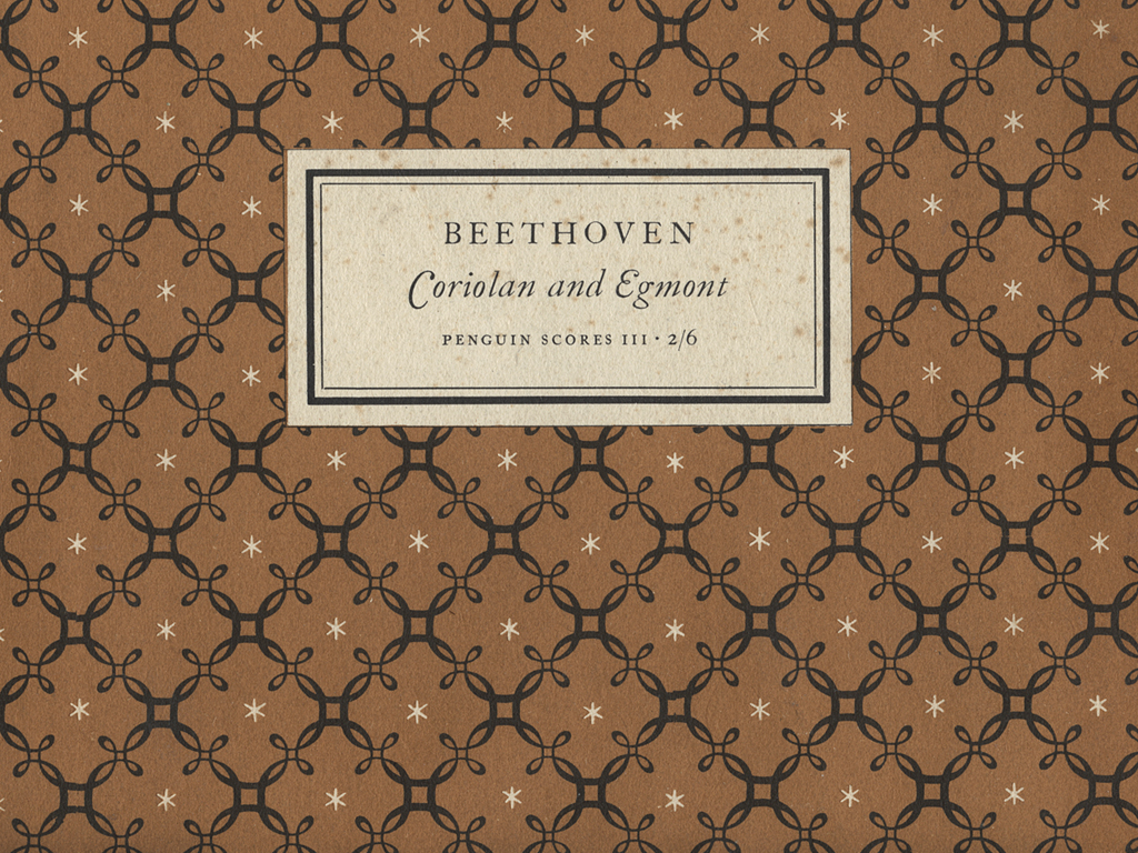 Beethoven Penguin Score book cover