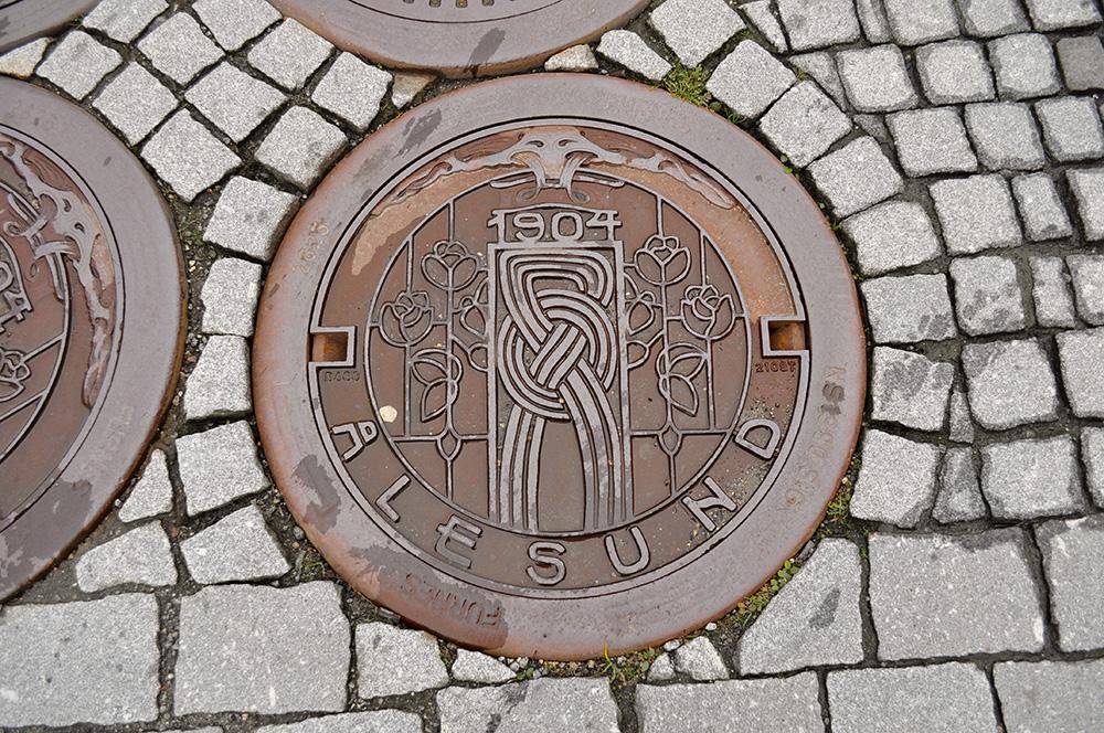 Norwegian Manhole Cover