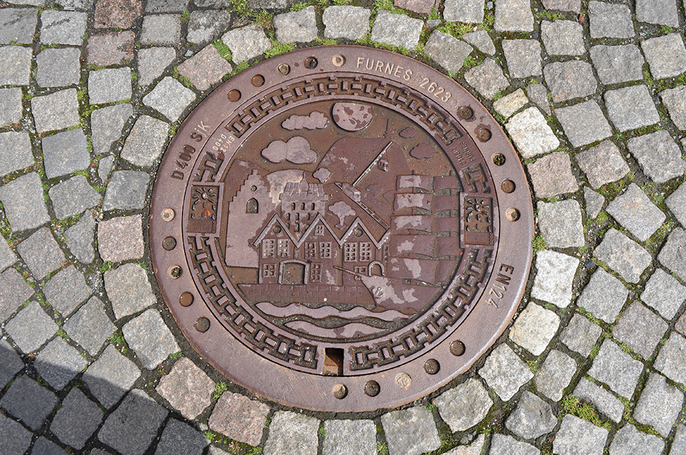 Norwegian Manhole Cover